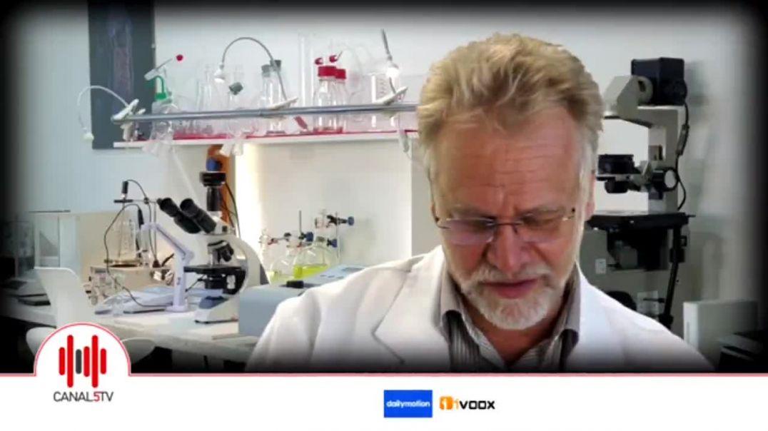 Andreas Kalcker en Canal 5 TV. Propiedades curativas del ClO2 y las mentiras de los masmedia. 15 feb