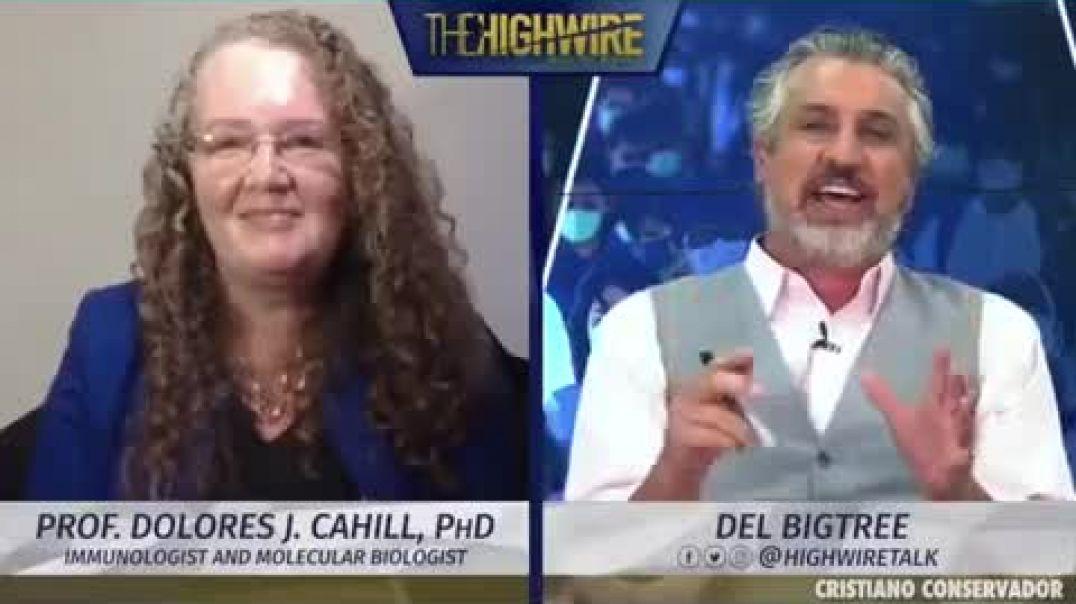 Dolores Cahill, titulada en genética molecular y doctorado en inmunología.