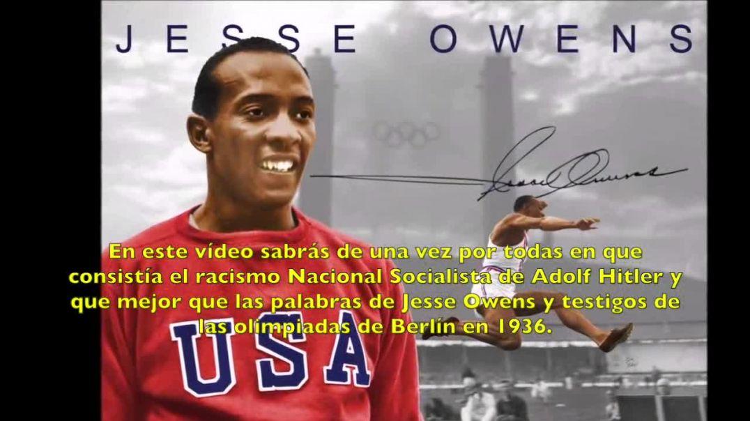 Adolf Hitler ¿Racista? - Jesse Owens.