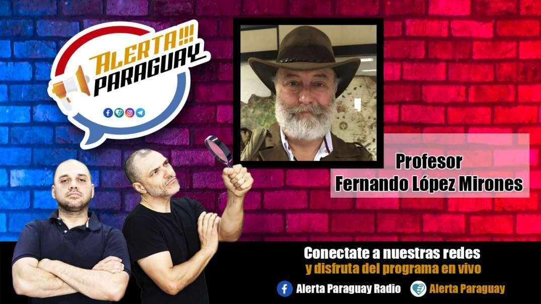 Entrevista con el Profesor Fernando López Mirones