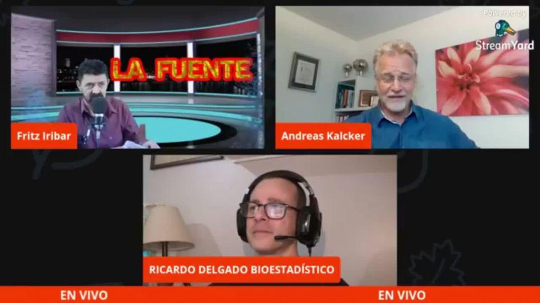 ENTREVISTA A ANDREAS KALCKER EN LA FUENTE SOBRE EL DIÓXIDO DE CLORO - 20 ABRIL 2.021