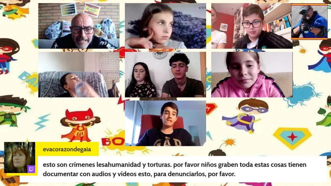 Rafa Navarro entrevista a 8 niños menores de edad.(SUS PADRES ESTAN PRESENTES Y CON EL CONSENTIMIENT