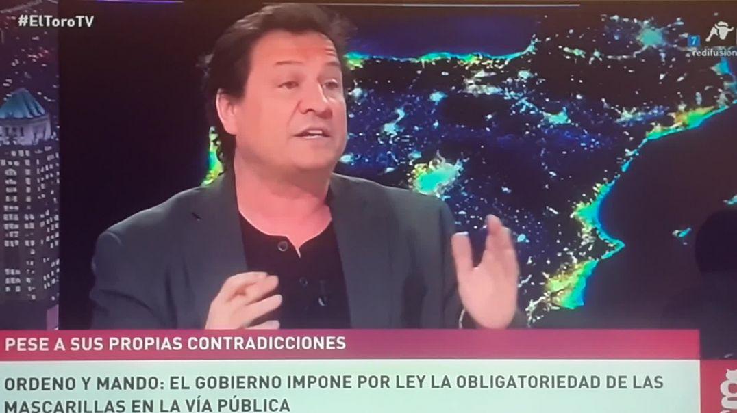 El Toro TV  es la única TV  nacional CONTRA LAS MASCARILLAS