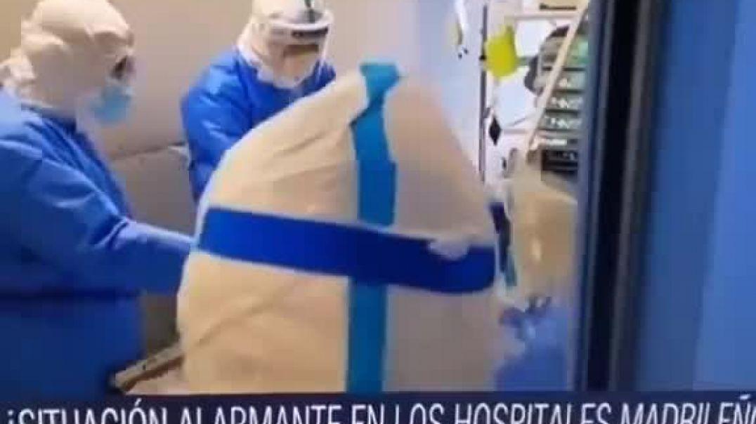 Falsifican hospitales en televisión.