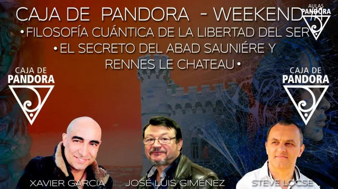 CAJA DE PANDORA WEEKEND #1 CON JOSELUIS LOZANO STEVE LOCSE Y XAVIER GARCIA