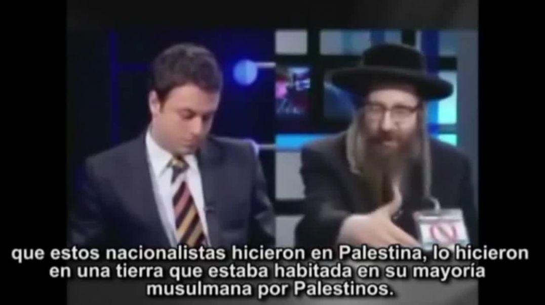 Judíos ultraortodoxos y Roger Dommergue, un judío negacionista.