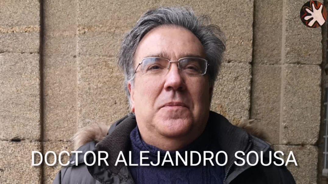 Alejandro Sousa Doctor en Medicina.  Sabias palabras.  Miembro de médicos por la Verdad.