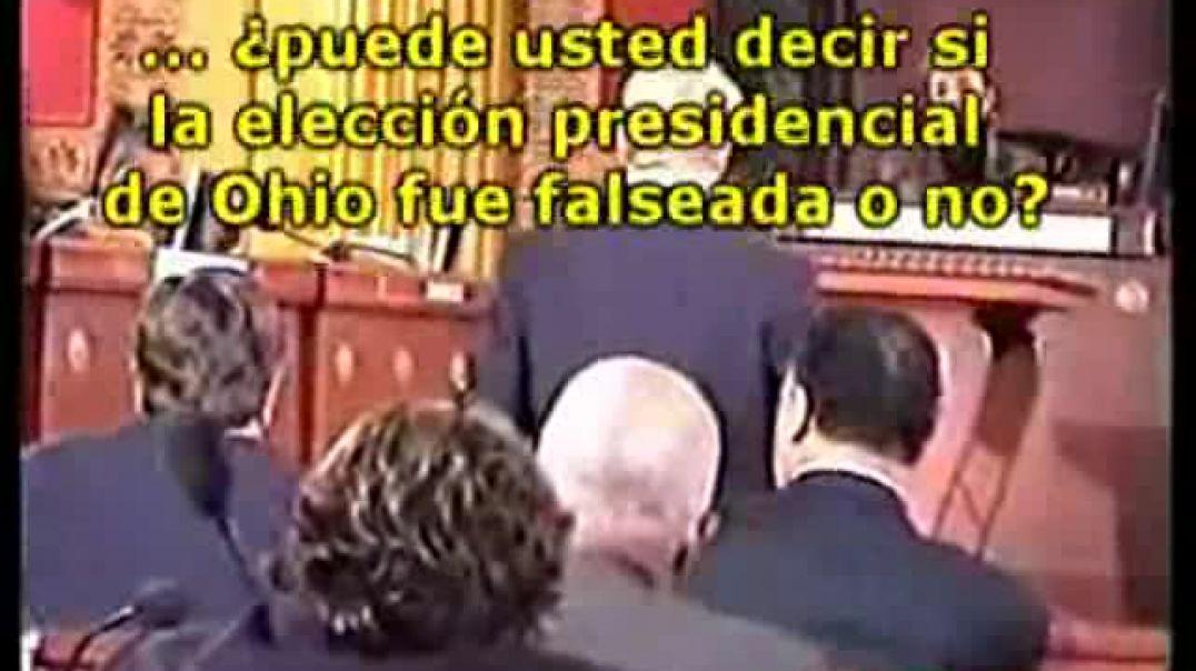 Falsas elecciones - Bush, 8 años robando a lo grande.