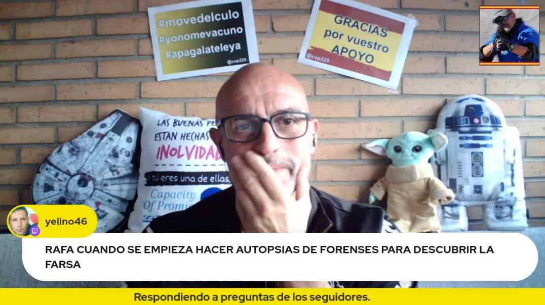 Rafa Navarro responde a preguntas de los seguidores.