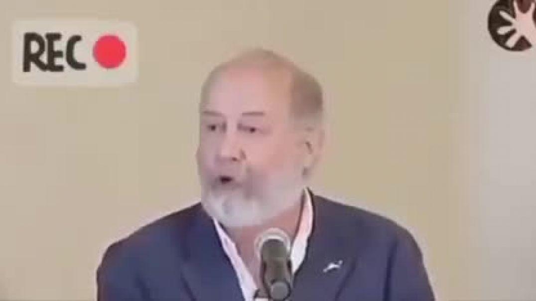 Doctor Fernando Mirones, biólogo reconocido internacionalmente. Escuchar con mucha atención su mensa