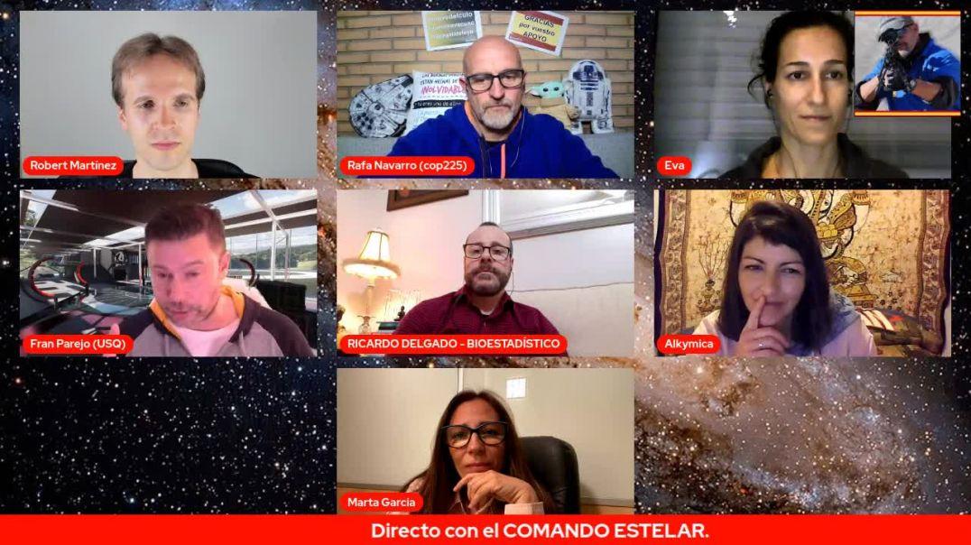 COMANDO ESTELAR (Parte 2de2) Rafa cop225 reune a Robert Martínez, Fran Parejo, Ricardo, Eva, Alkymic