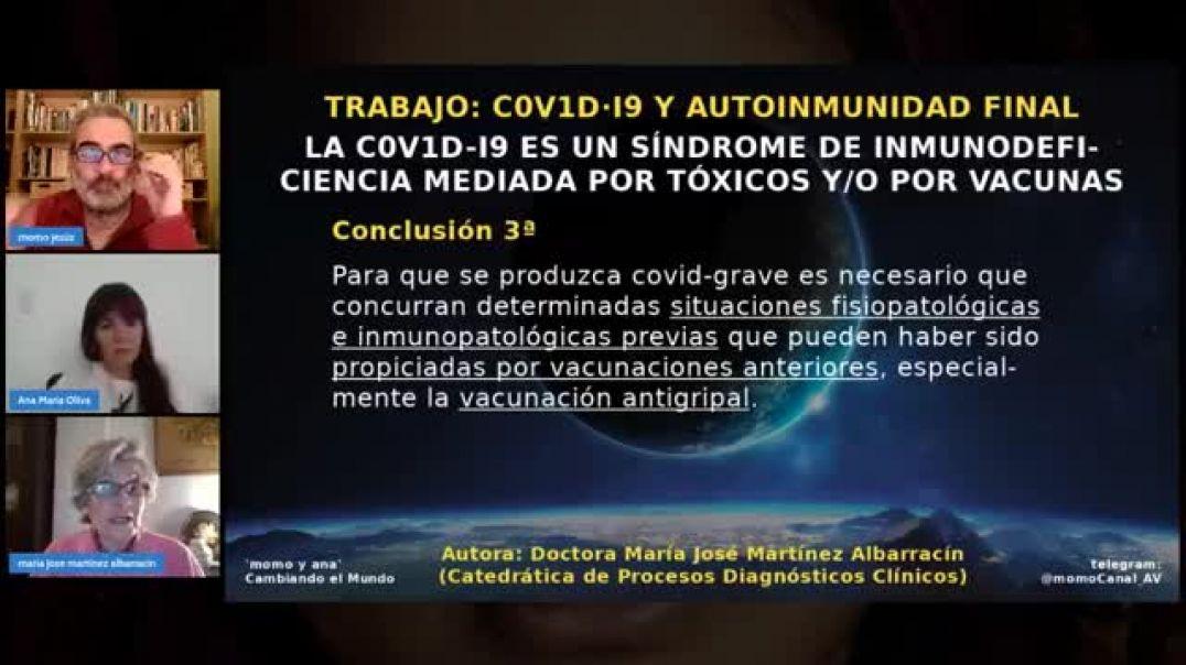 El Covid-19 es un síndrome de inmunodeficiencia.
