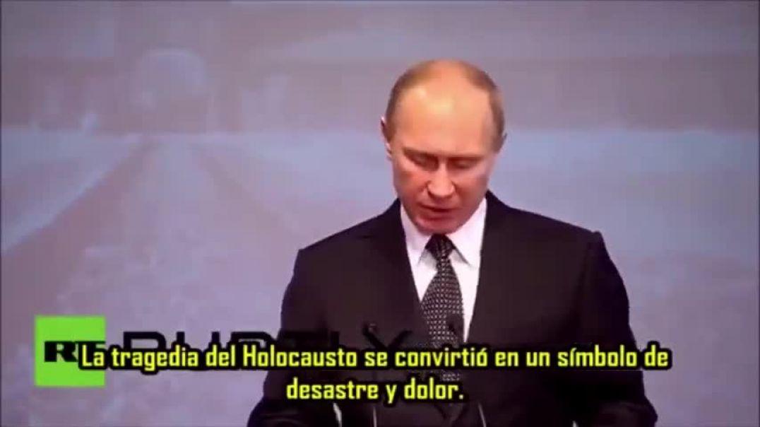 Vladimir Putin. ¿Antisionista y anti-élite?