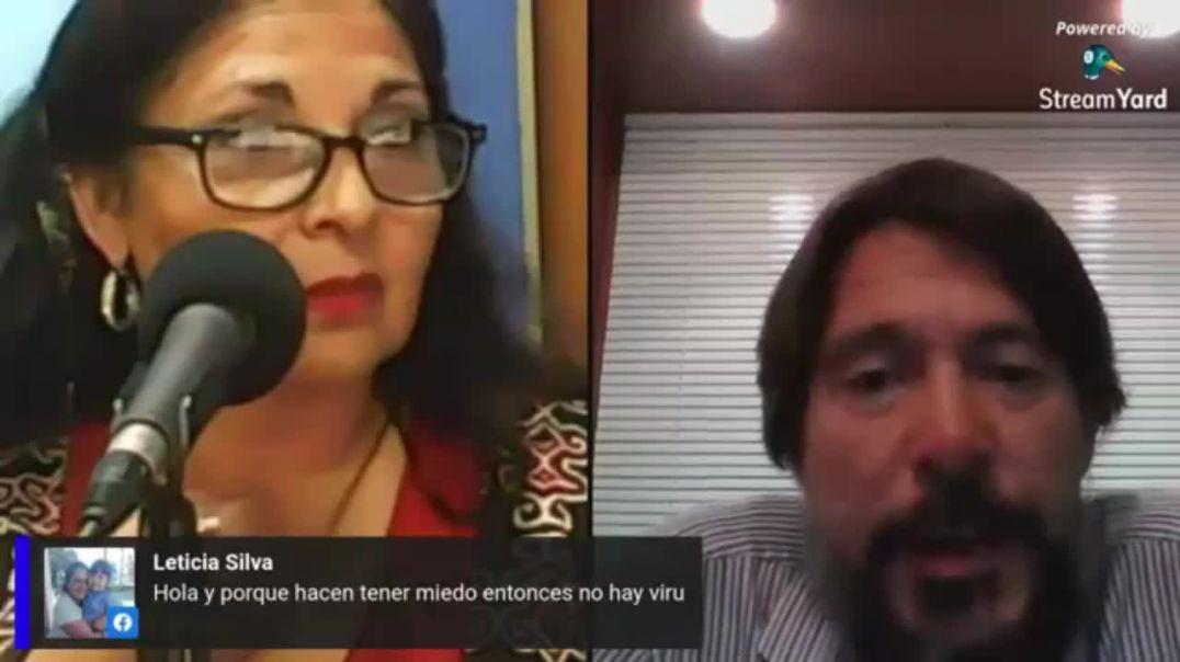 """DR. LUIS MARCELO MARTÍNEZ """"EL SARSCOV2 NO EXISTE"""""""