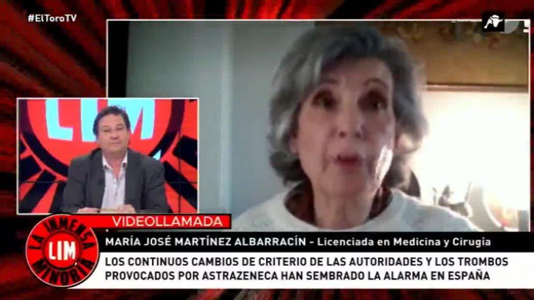 La inmensa minoría. En el Toro TV con la Dra. M. José Martínez Albarracín.