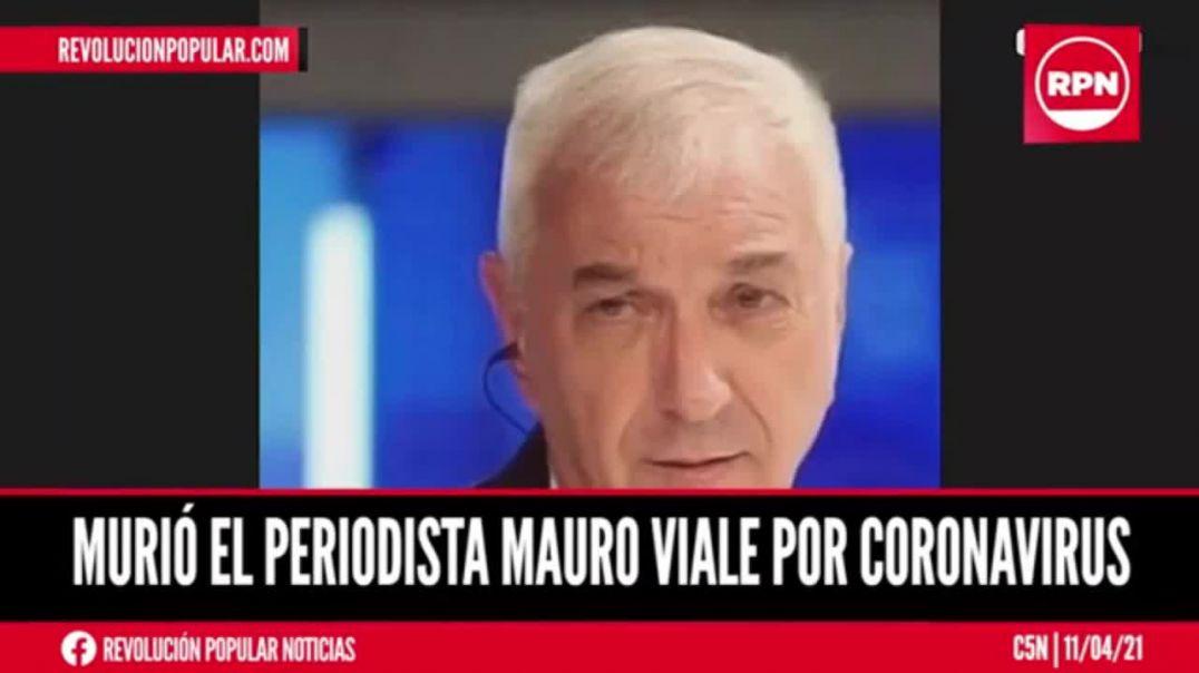 """FAMOSO PERIODISTA ARGENTINO FALLECE TRAS LA INOCULACIÓN DE LA """"VACUNA"""""""