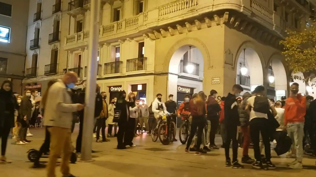 Zaragoza pide libertad.