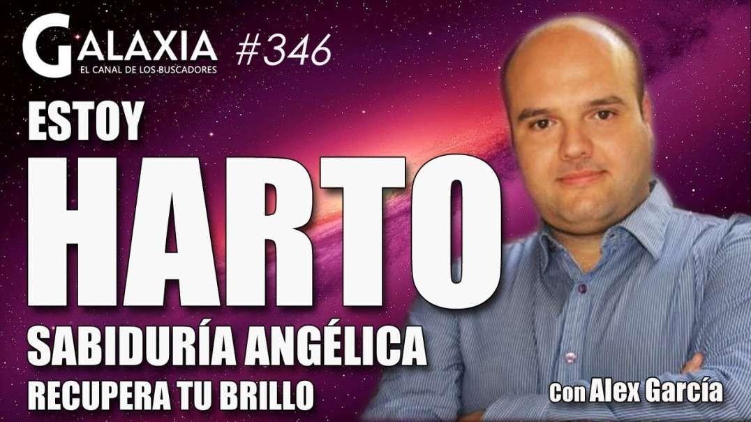 GALAXIA 346_ ESTOY HARTO - Sabiduría Angélica - Recupera Tu Brillo