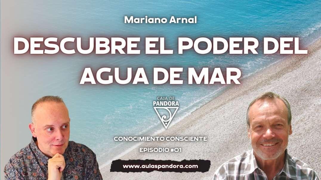 DESCUBRE EL PODER DEL AGUA DE MAR con  Mariano Arnal - Fundación Aqua Maris