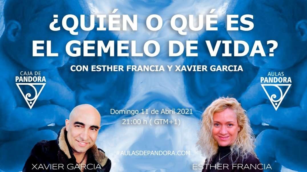 ¿QUIEN O QUE ES EL GEMELO DE VIDA_ con ESTHER FRANCIA y XAVIER GARCIA
