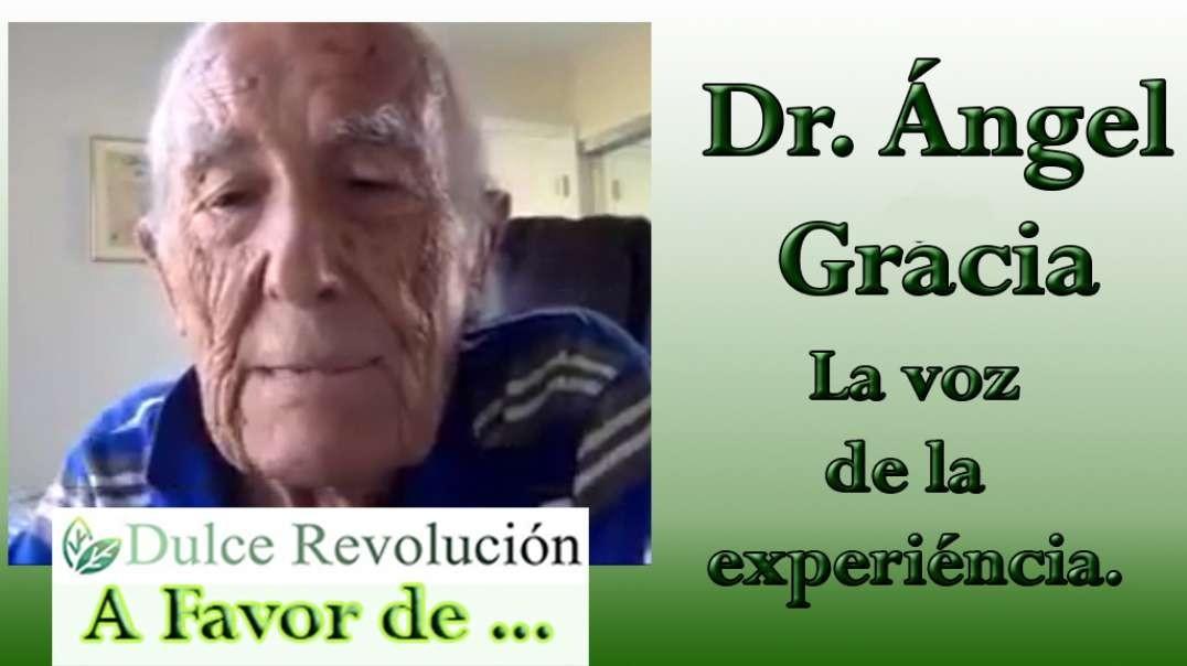 """Dr. Angel Gracia. """"CoronaTimo"""" Sus 90 años le dan autoridad de opinión."""