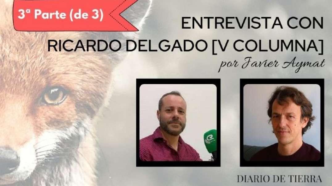 """Ricardo Delgado V Columna: """"Hay que insistir en un debate científico en televisión"""". (3ª P"""