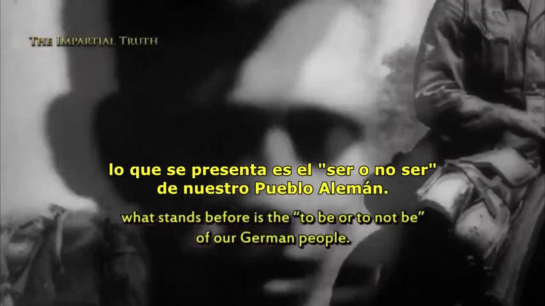 """Hitler - El """"Ser o no Ser"""" de nuestro pueblo."""