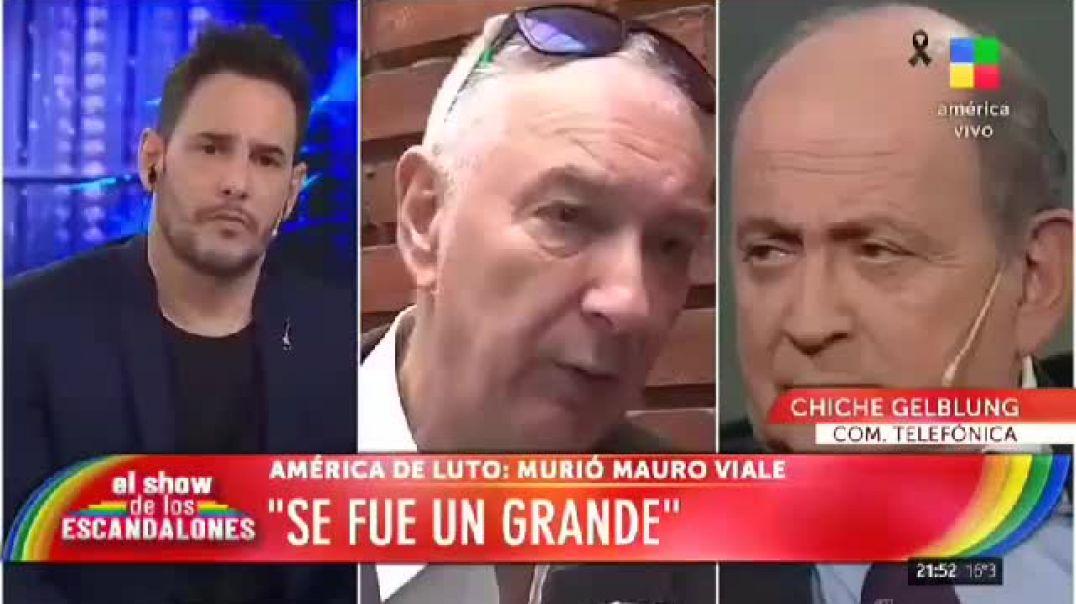 A Mauro Viale lo mato la vacuna