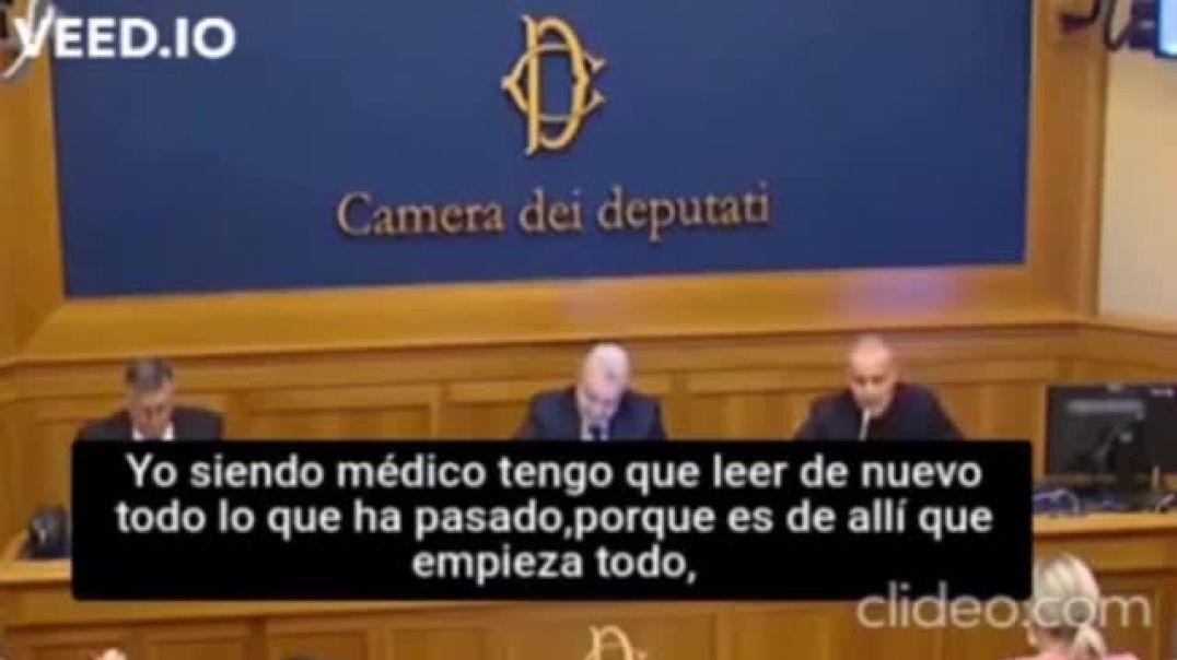 Dr. Pasquale Mario Bacco en la Cámara de Duputados de Italia.