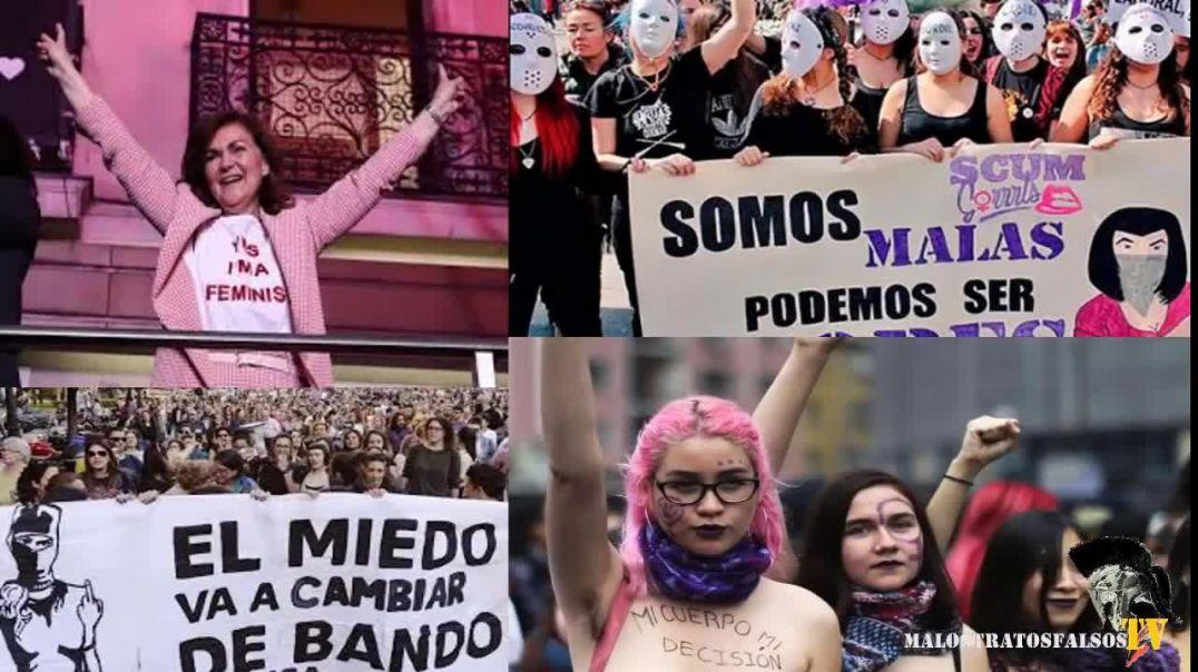 Cien mujeres dan la cara contra la ideología de género..