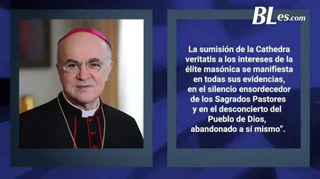 Arzobispo Viganò. Demoledor discurso contra el papa Francisco.