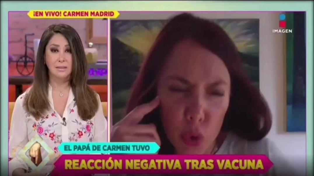 MUERE EL PADRE DE LA ACTRIZ CAMEN MADRID POR LA VACUNA | EL GENOCIDIO PROSIGUE