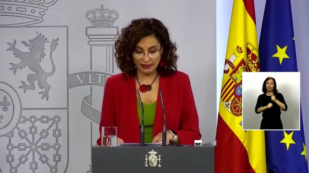 Rueda de prensa de Nadia Calviño y María Jesús Montero. España en el Nuevo Orden Mundial. Hace 11 me