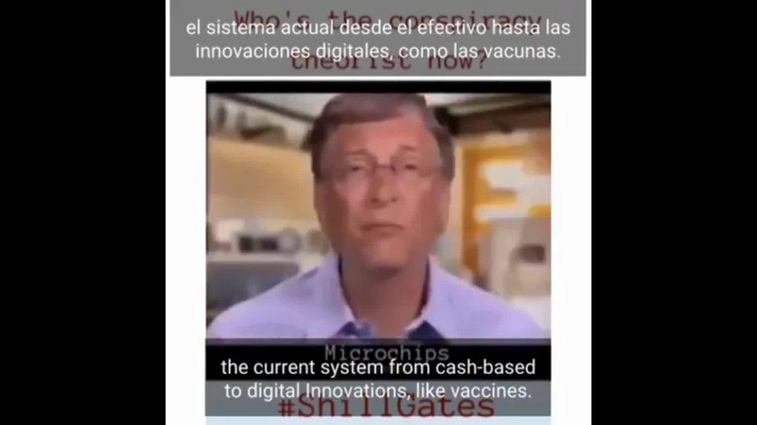 Está Confirmado Implantarán  Microchips en las Vacunas