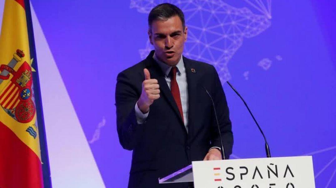 """Perro Sanchez y su ridicula agenda """"España 2050"""" que NUNCA llegara  [ opinion sin censura"""
