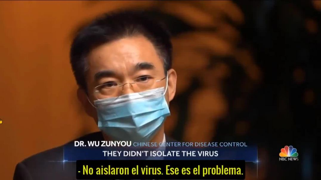 Dr. Wu Zunyou del Centro de Control de Enfermedades de China.