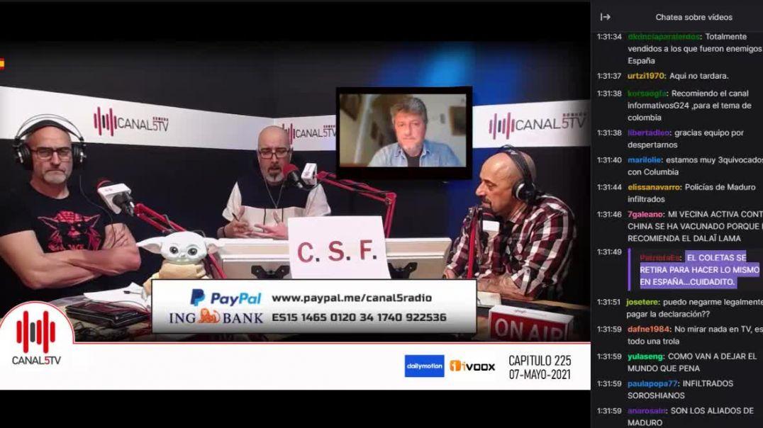 07_5_2021 Canal 5 TV Programa 225
