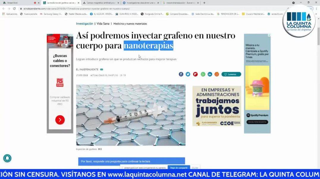 """EL """"PINCHAZO MAGNÉTICO"""" CON EL DR. JOSÉ LUIS SEVILLANO Y LA DRA. MARÍA JOSÉ MATEO"""