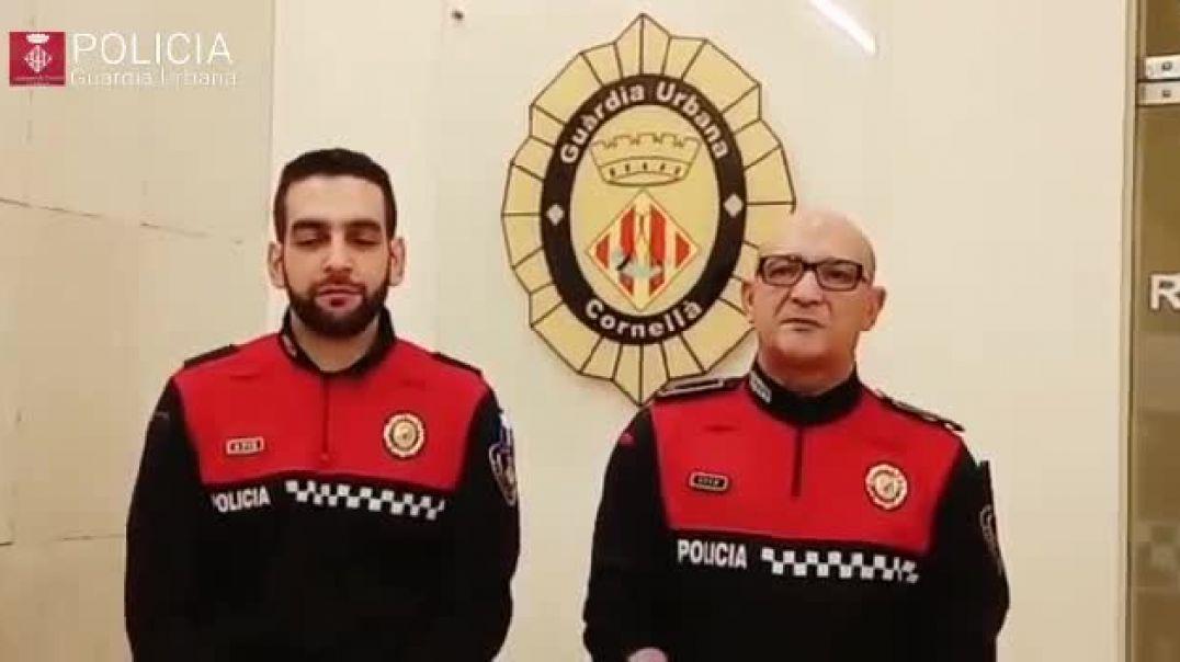 La policía felicita los musulmanes de Ramadán 2020.