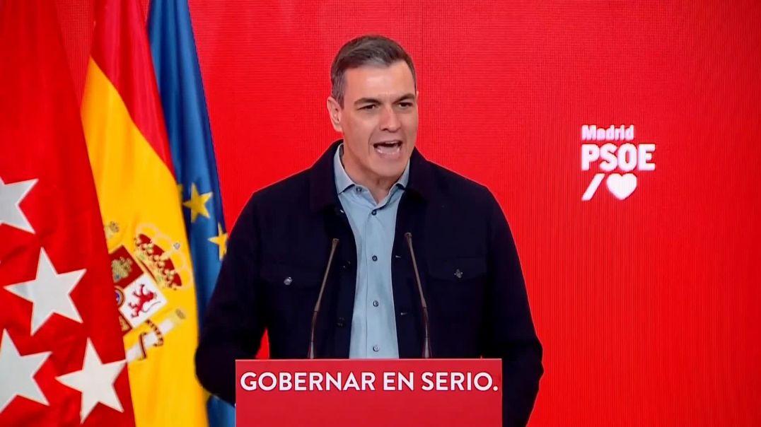 Pedro Sánchez es toda una amenaza para la humanidad.