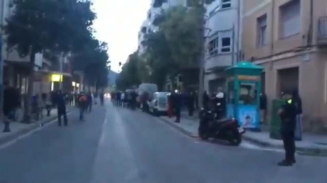 El Vendrell, Tarragona. En pleno confinamiento.