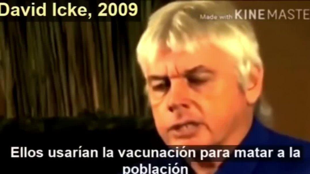 David Icke sabía de la pandemia.