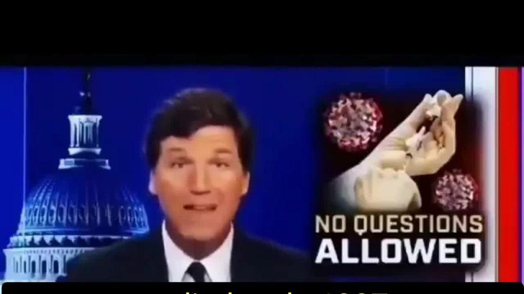En la televisión norteamericana citan la peligrosidad de la vacuna del Covid.