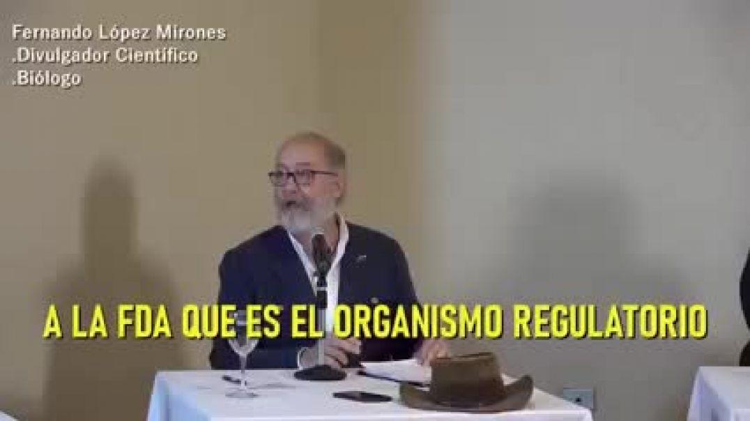 El biólogo Fernando Mirones ¿Vacunas de emergencia y/o experimentales?