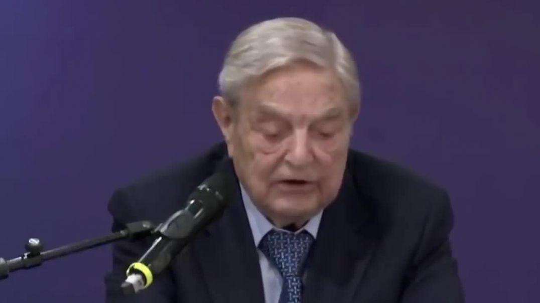 """George Soros... """"Trump es un peligro para el mundo""""."""