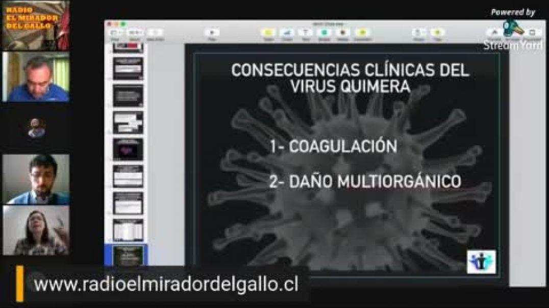 Dra. Roxana Bruno -El origen quimérico del SARS-CoV-2.