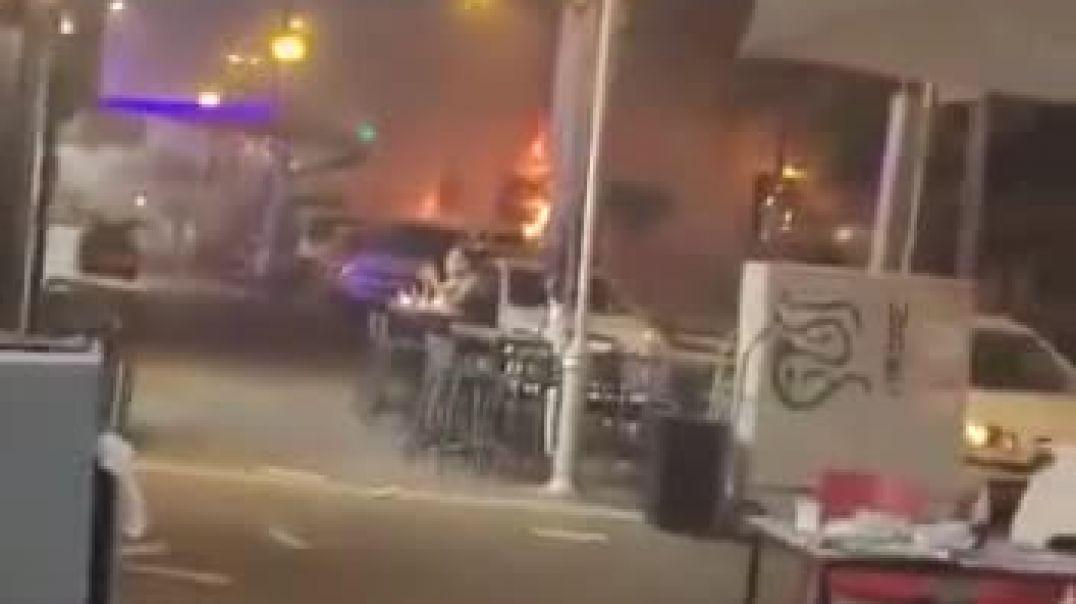 Conflicto judeo palestino - Explosión en Jolón.