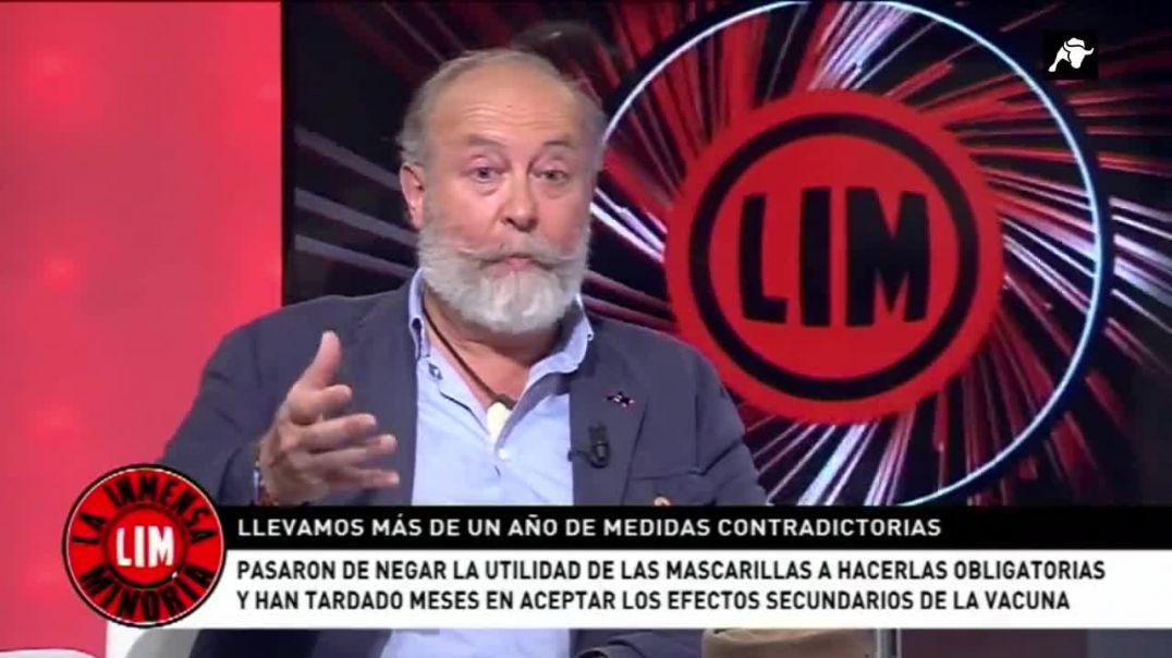 Biólogo Fernando López Mirones en el Toro TV. 26-05-2021.