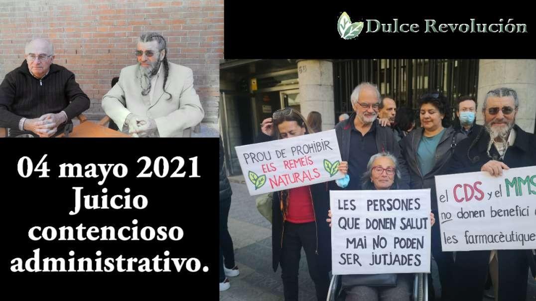 2021-04-maig-Juicio contencioso administrativo a Dulce revolució y J. Pàmies.