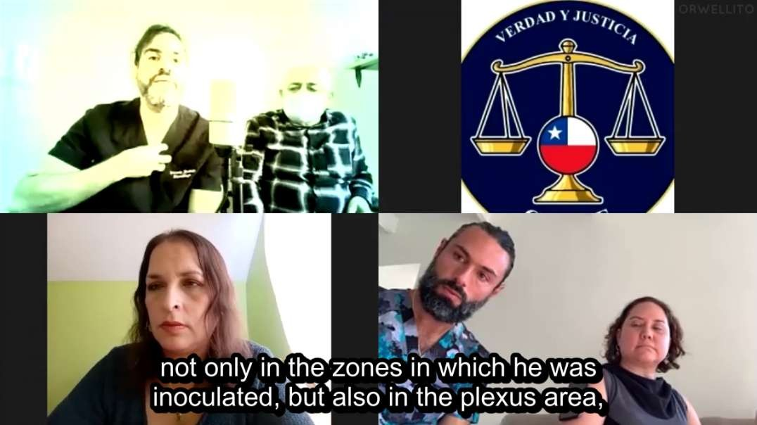 Attorney Natalia Ravanales: Victims of Experimental Vaccines in Chile